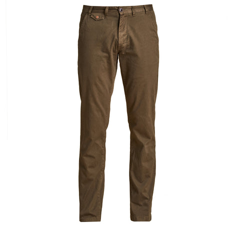 Neuston Twill Chinos, Khaki - BARBOUR