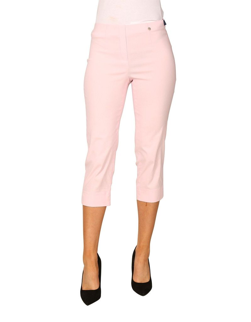 Marie 07, Crop Trouser- Baby Pink