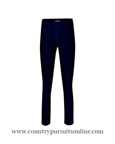 BELLA - BLACK, Winter Bengaline Stretch - Robell Trousers