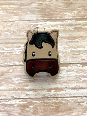 Horse Hand Sanitizer Holder, Hand Sanitizer Keeper, Hand Sanitizer Holder, Hand Sanitizer Keychain  --- you choose from 70 Colors