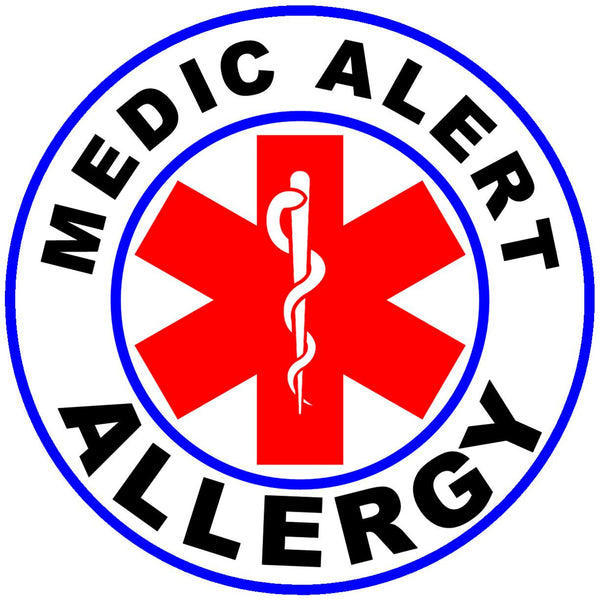 Circle Alert Medic Alert Allergy Temp Alert Id
