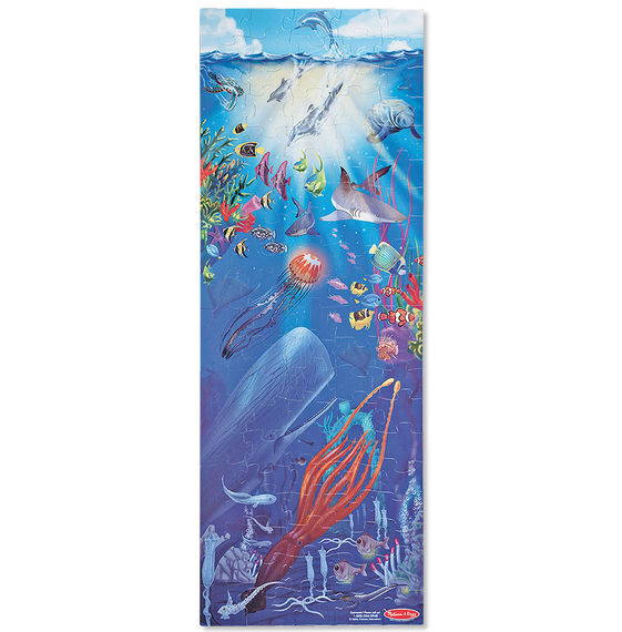 Under the Sea (Floor Puzzle/ 100 Pieces)