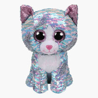 Ty - WHIMSY (Sequin Blue Cat)