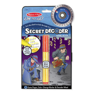 ON the GO - Secret Decoder Game Book