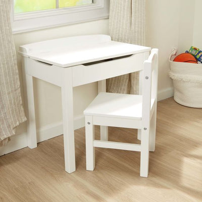 Lift-Top Desk and Chair