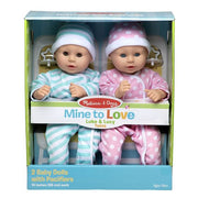 Mine to Love Twins Luke & Lucy Dolls