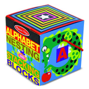 english alphabet nesting and stacking