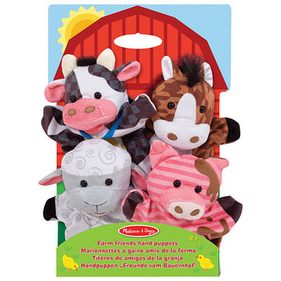 farm hands animal puppets