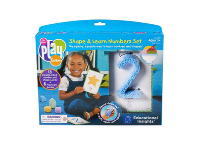 Playfoam  Shape & Learn Number Set