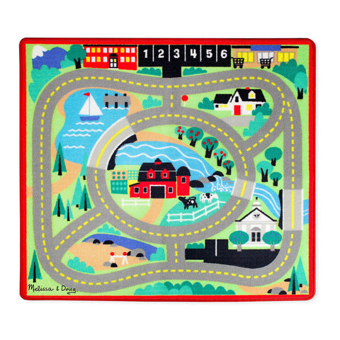 Around the Town Road Rug & Car Set
