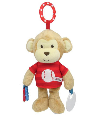 LITTLE SPORT STAR - DEVELOPMENTAL BASEBALL MONKEY