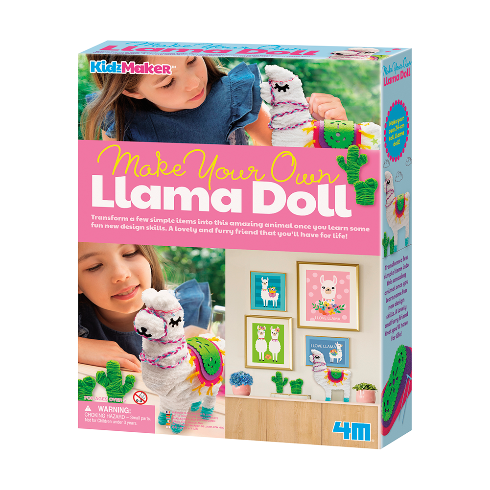 Make Your Own Llama Doll