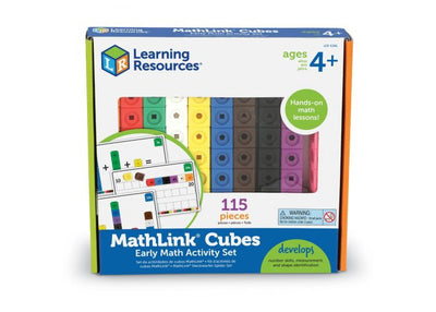 Cubes Early Math Activity Set