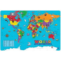 world foam puzzle