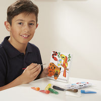 canvas creations painting set - animals