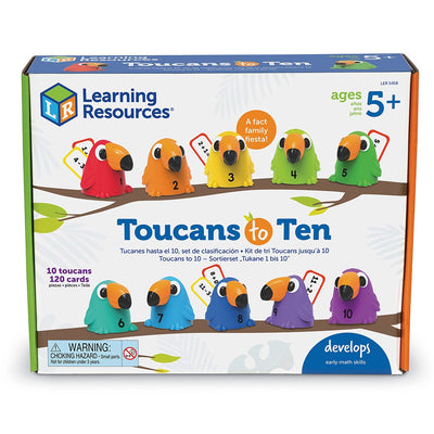 Toucans To Ten