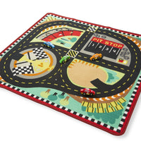 eround the race track rug