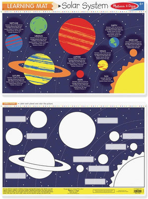 Learning Mat - Solar System
