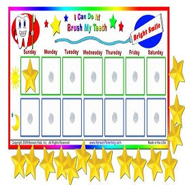 I Can Brush My Teeth Reward Chart
