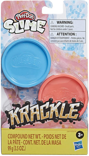 Play-Doh Krackle Slime Blue & Pink