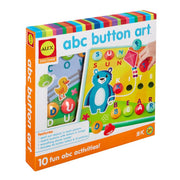 ABC Button Art