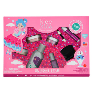 SUNDAE STAR - KLEE KIDS NATURAL MINERAL PLAY MAKEUP SET