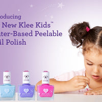 Starry Sky Kiss - Klee Kids Nail Polish - 3 piece set