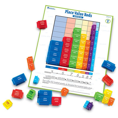 Place Value Rods - Activity Set