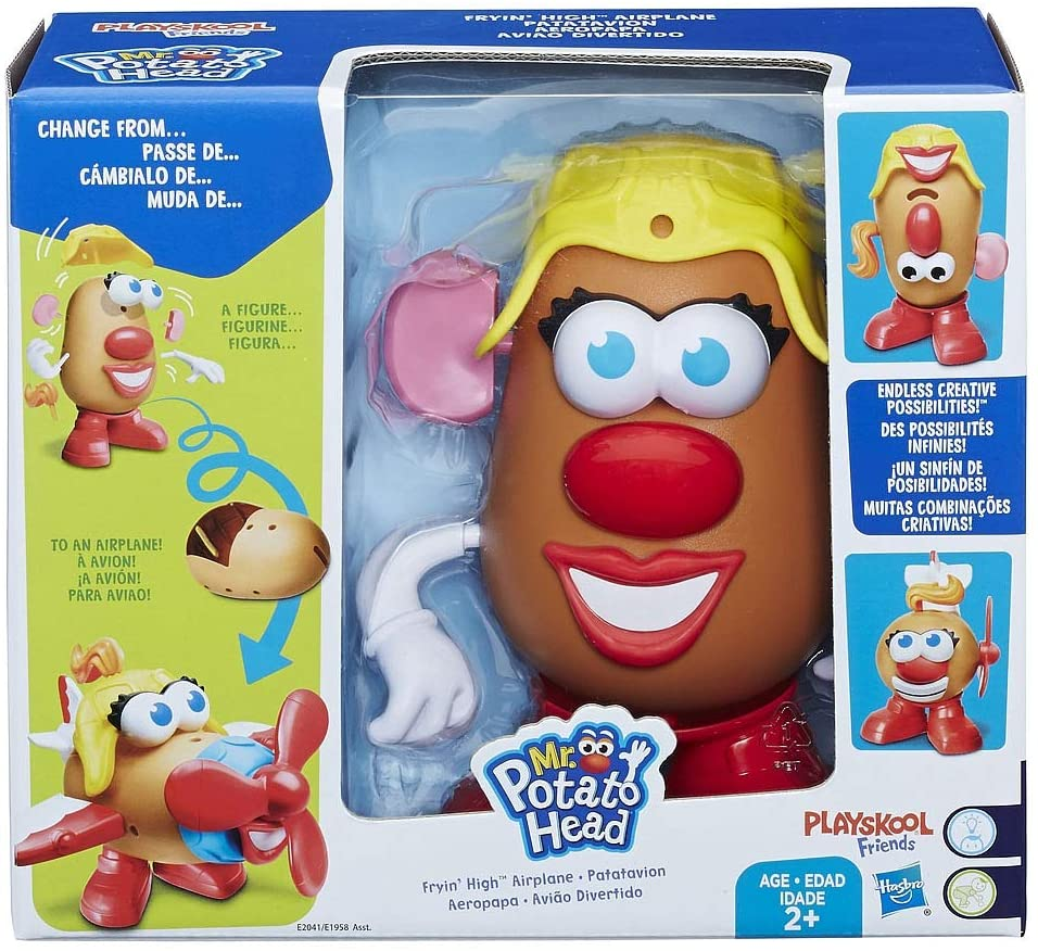 Mrs. Potato Head Fryin High - Airplane