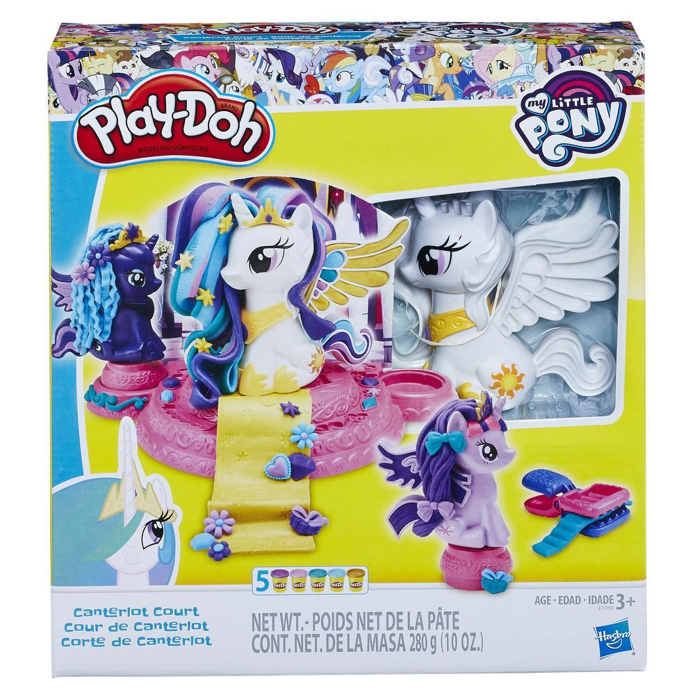 My Little Pony- Canterlot Court-Play Doh