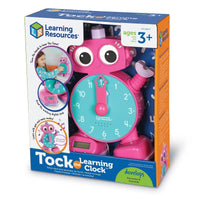 Tock The  Learning Clock Pink
