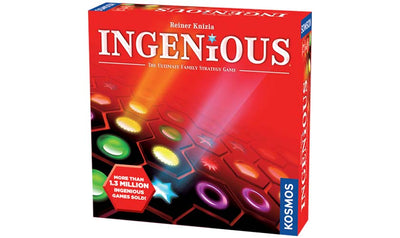 Ingenious - The game of vexing and perplexing hexagons