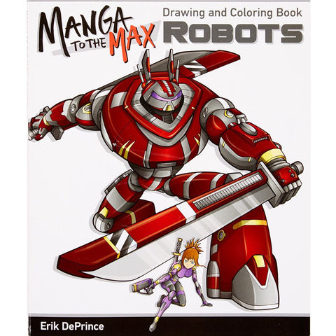 Manga to the Max-  Robots