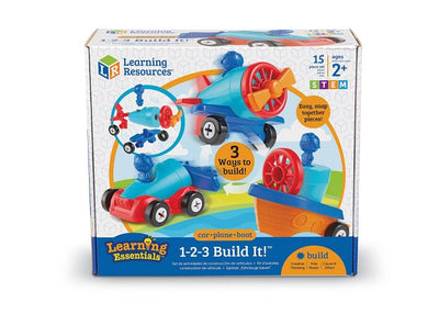 1-2-3 Build It! Car-Plane-Boat