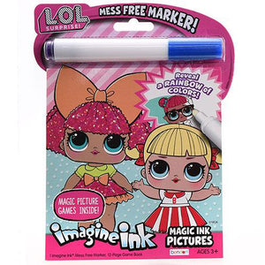 LOL Imagine Ink Magic Ink Pictures Coloring Book