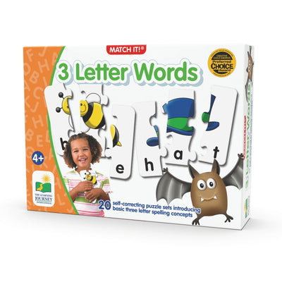 Match It! 3 Letter Words