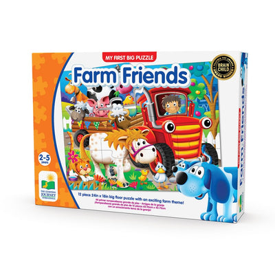 My  First Big Puzzle - Farm Friends
