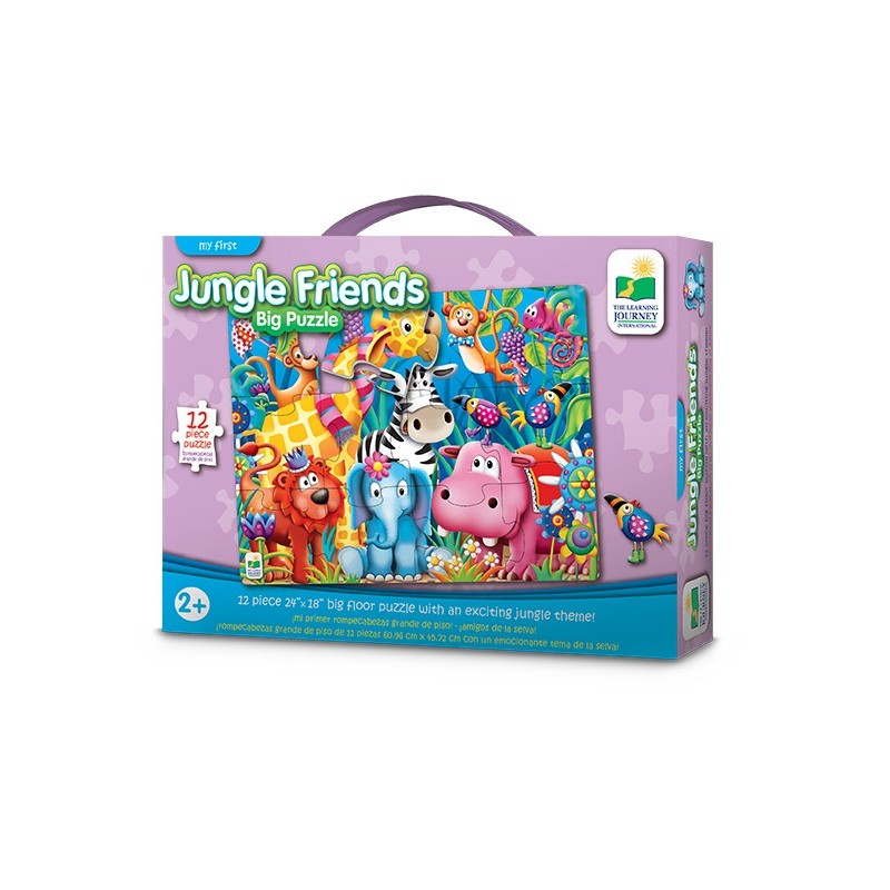My  First Big Puzzle - Jungle Friends
