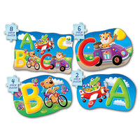 My First Puzzle Sets 4-In-A-Box Puzzles ABC