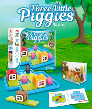 Three Little Piggies Deluxe - NERD'S BOX TOYS