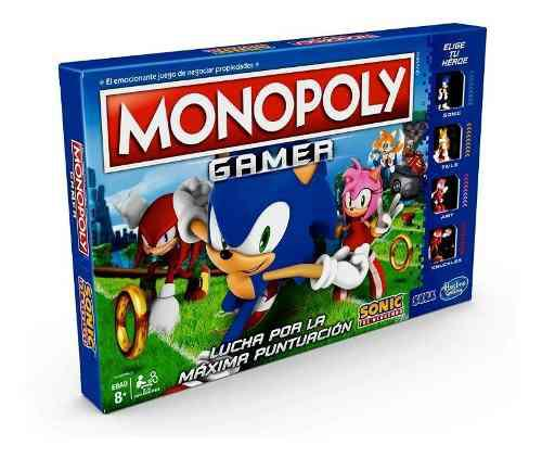 Monopoly Gamer Sonic The Hedgehog -  (SPANISH version)