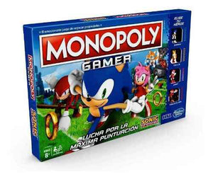Monopoly Gamer Sonic The Hedgehog