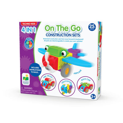Techno Kids 4 In 1 Construction Set - On The Go