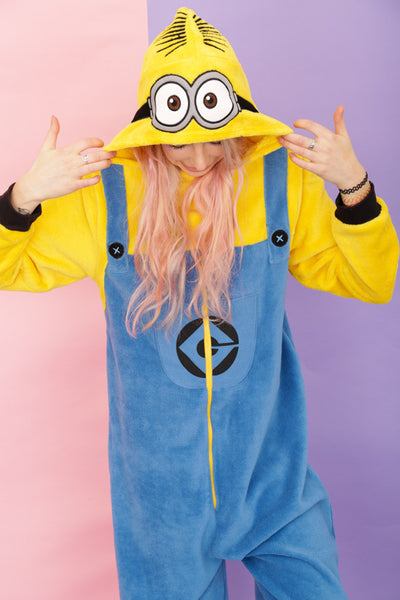 Womens Despicable Me Two Eyed Minion Onesie Primark