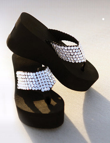 Shoes Crystal Platform -Swarovski Crystal