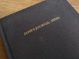 Jane's Journal: India