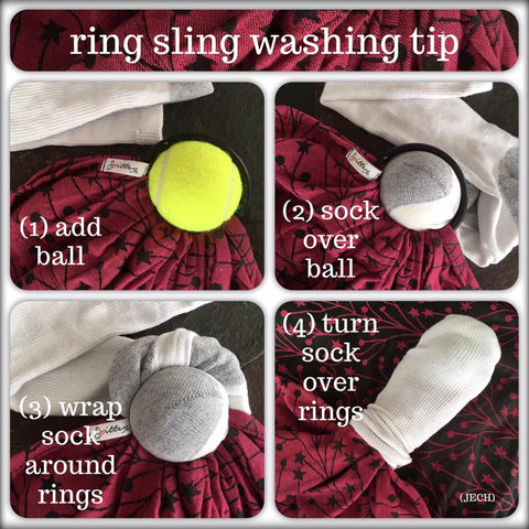 Smitten with wovens ring sling washing instructions