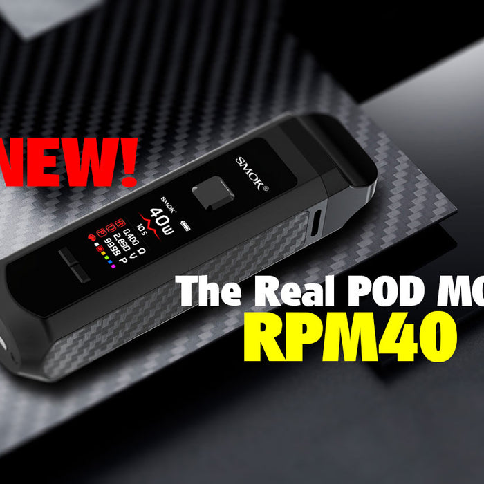 SMOK RPM40 Advert