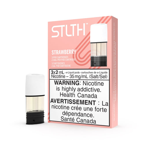 Strawberry STLTH Vape Pod