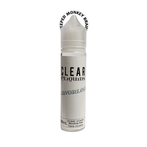 Clear Eliquids Flavorless
